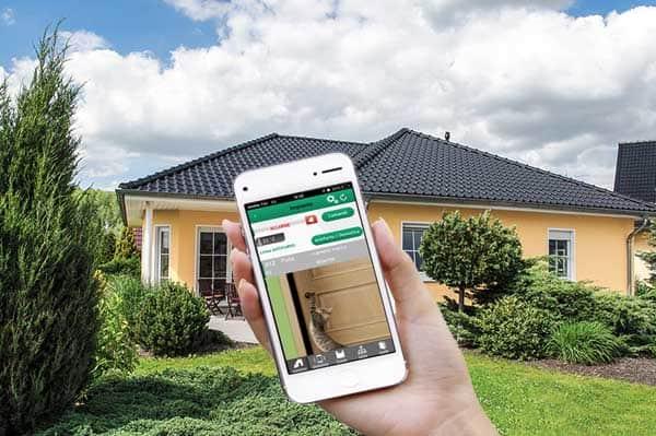 Anti-theft alarm with video verification