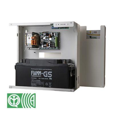 Power supply for alarm (cert. EN50 131/6)