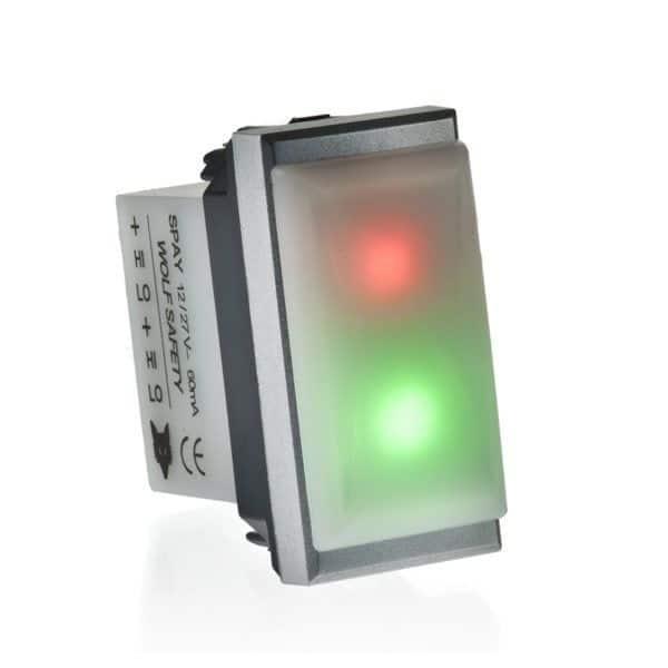 Sensori ad infrarossi da incasso